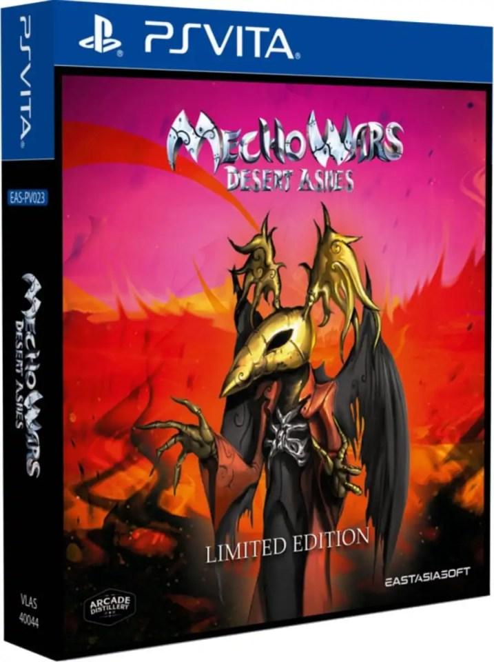 mecho wars desert ashes limited edition retail eastasiasoft ps vita cover limitedgamenews.com