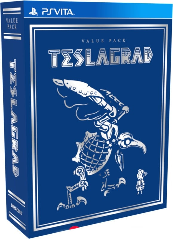 teslagrad value pack retail limited run games ps vita cover limitedgamenews.com