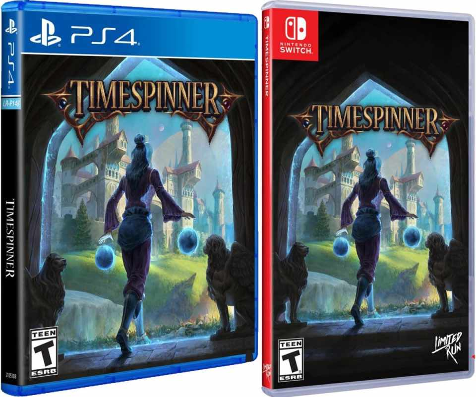 timespinner retail limited run games ps4 nintendo switch cover limitedgamenews.com
