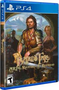 bards tale arpg remastered and resnarkled retail limited run games ps4 cover limitedgamenews.com