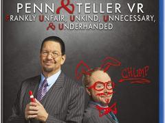 penn teller vr frankly unfair unkind unnecessary underhanded retail ps4 psvr cover limitedgamenews.com