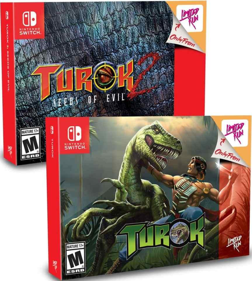 turok retail limited run games classic edition bundle nintendo switch cover limitedgamenews.com