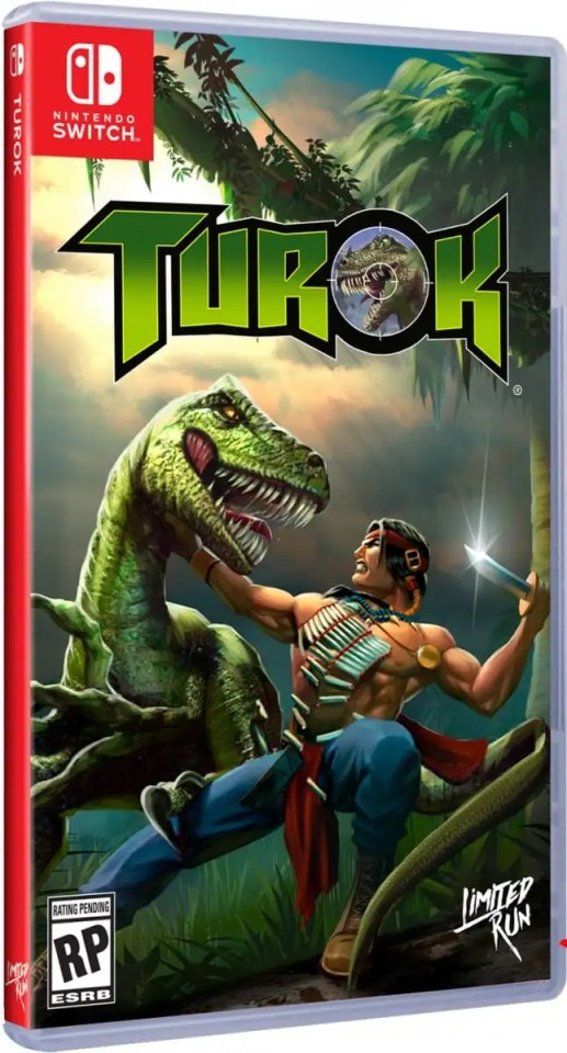 turok retail limited run games nintendo switch cover limitedgamenews.com