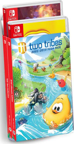 two tribes collection rive ultimate edition toki tori collection retail super rare games nintendo switch cover limitedgamenews.com