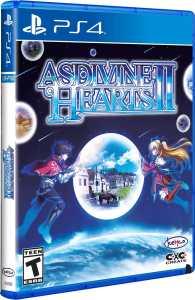 asdivine hearts ii physical release limited run games ps4 cover limitedgamenews.com