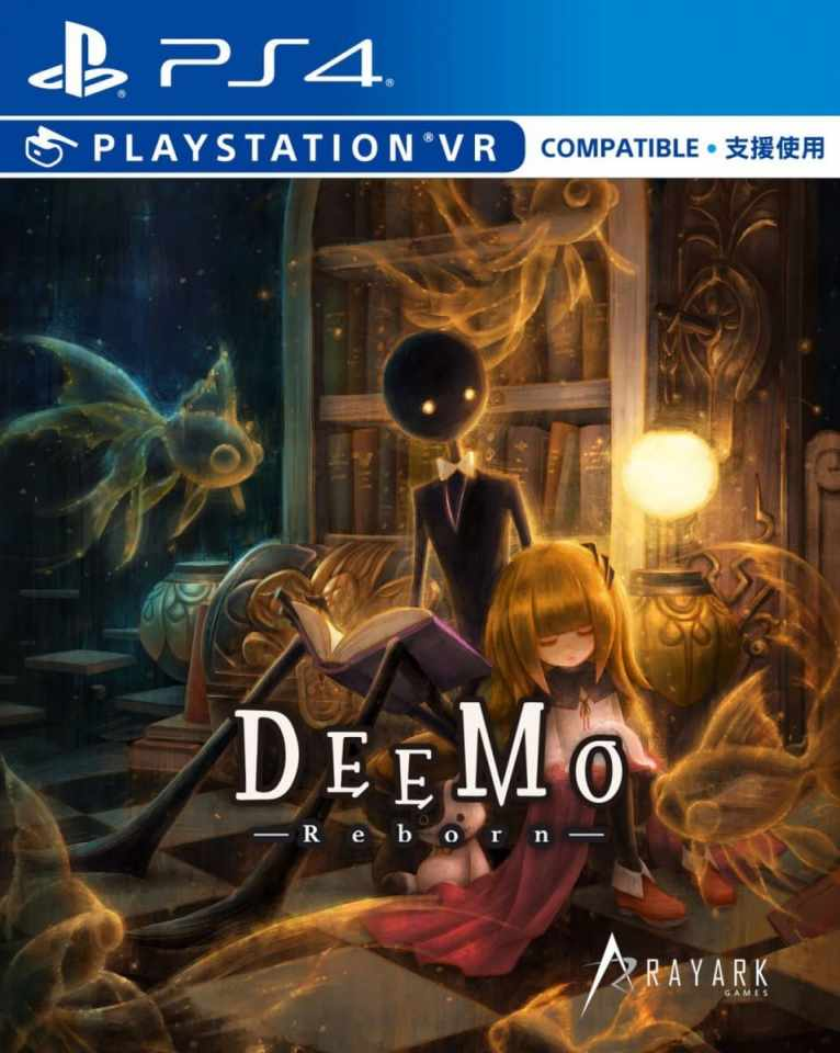 deemo reborn retail release premium edition multi-language psvr ps4 cover limitedgamenews.com