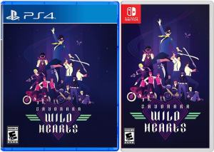sayonara wild hearts physical release iam8bit ps4 nintendo switch cover limitedgamenews.com