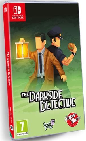 the darkside detective physical release super rare games nintendo switch cover limitedgamenews.com