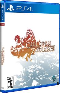 children of zodiarcs physical release limited run games ps4 cover limitedgamenews.com