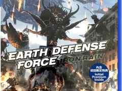 earth defense force iron rain asia multi-language retail release ps4 cover limitedgamenews.com
