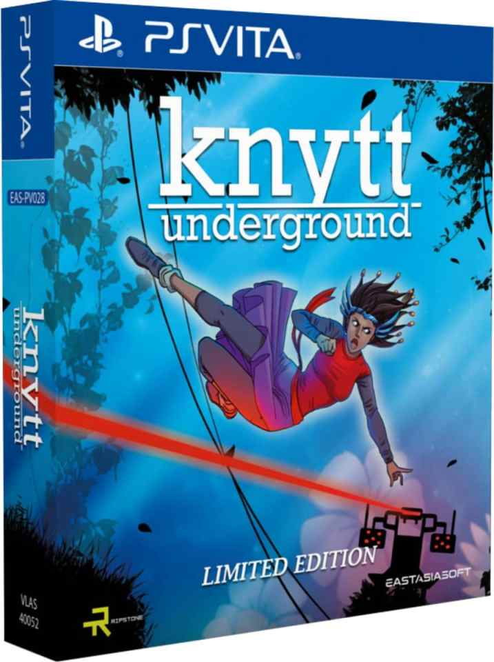knytt underground limited edition physical release eastasiasoft ps vita cover limitedgamenews.com
