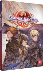 mercenaries wings the false phoenix limited edition physical release limited run games ps4 cover limitedgamenews.com