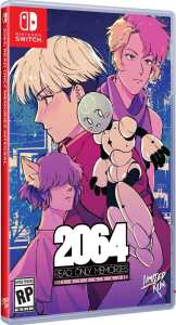 2064 read only memories physical release limited run games standard edition nintendo switch cover limitedgamenews.com