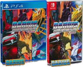 darius cozmic collection arcade physical release strictly limited games standard edition ps4 nintendo switch cover limitedgamenews.com