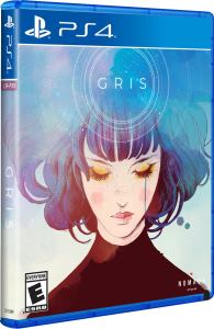 gris physical release limited run games ps4 cover limitedgamenews.com