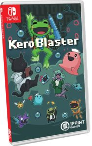 kero blaster physical release 1printgames nintendo switch cover limitedgamenews.com