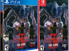 strangers things 3 the game physical release standard edition limited run games nintendo switch ps4 cover limitedgamenews.com