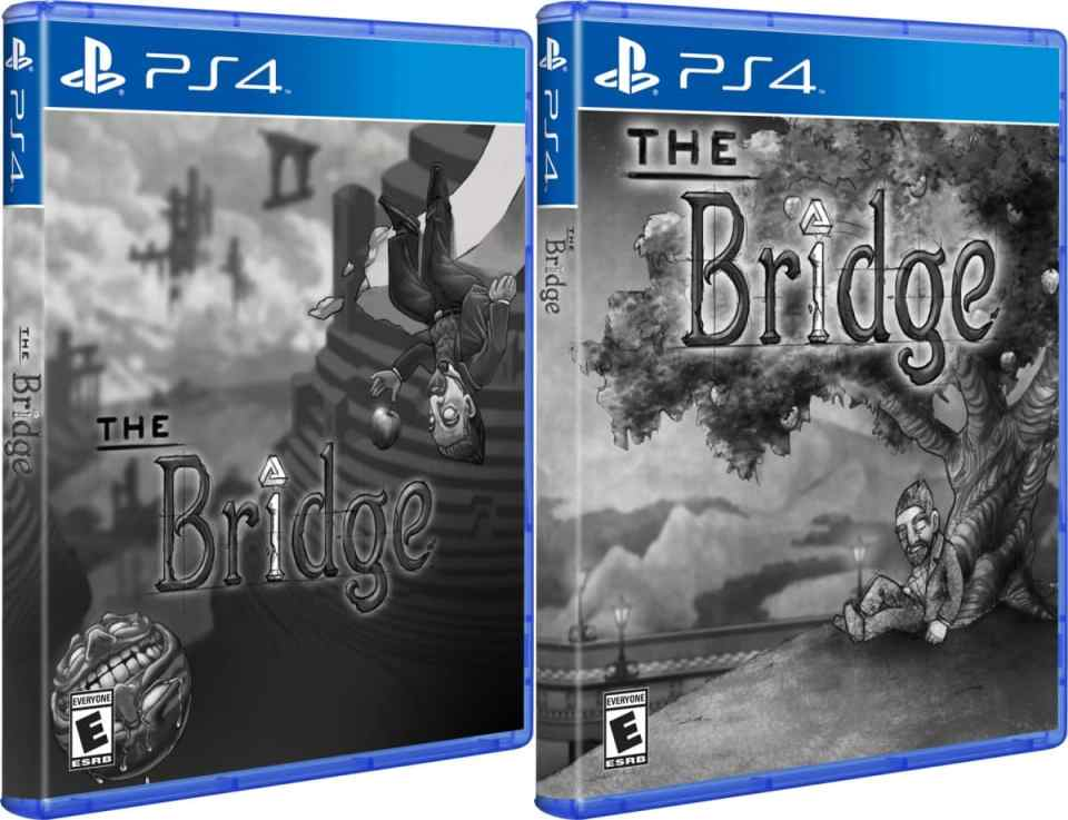 the bridge physical release hardcopygames ps4 normal and variant cover limitedgamenews.com