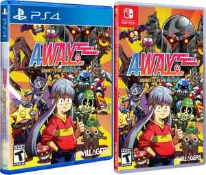 away journey to the unexpected physical release limited run games nintendo switch ps4 cover limitedgamenews.com