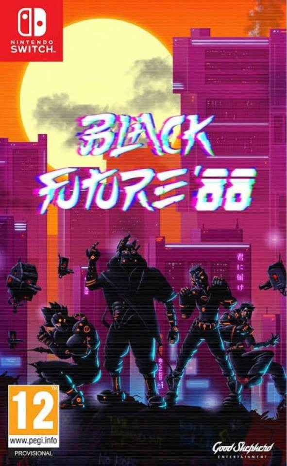 black future 88 retail release nintendo switch cover limitedgamenews.com