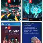first press games december 2019 triple pre-order set retail ps4 nintendo switch cover limitedgamenews.com