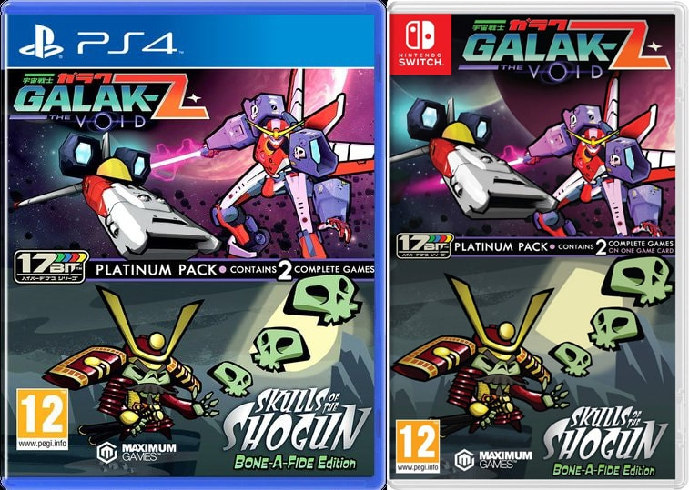 galak-z the void skulls of the shogun bone-a-fide edition platinum pack ps4 nintendo switch cover limitedgamenews.com