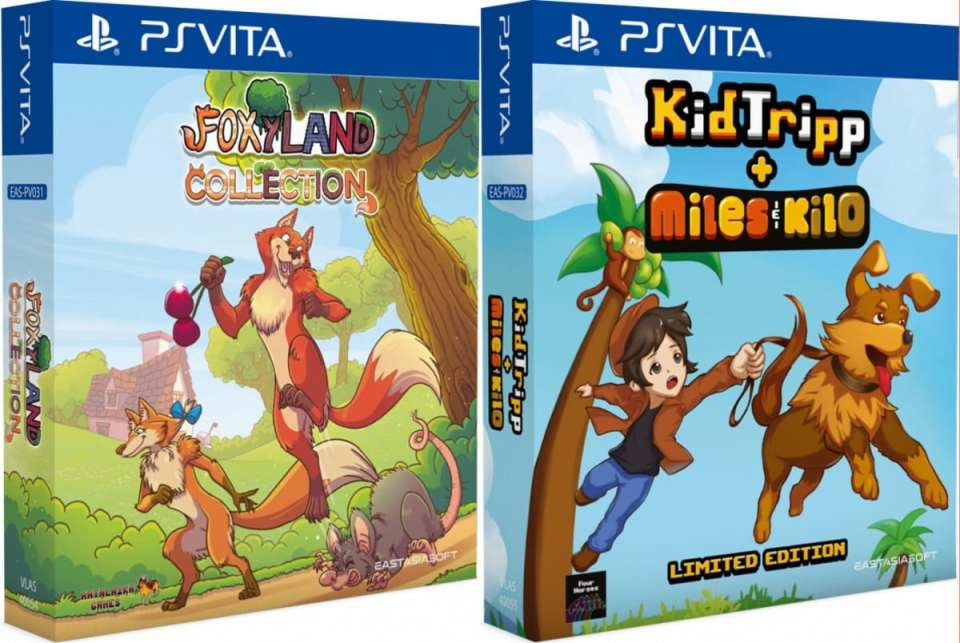 kid tripp miles and kilo collection foxyland collection limited edition asia multi-language eastasiasoft ps vita cover limitedgamenews.com