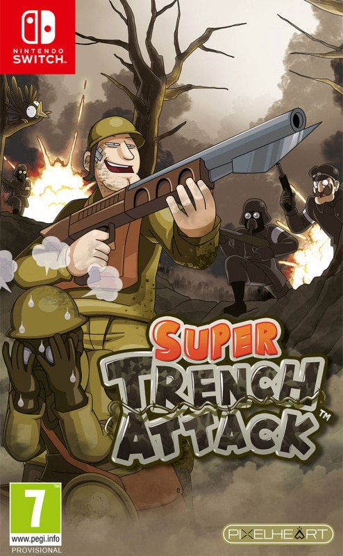super trench attack edition physical release pixelheart nintendo switch cover limitedgamenews.com