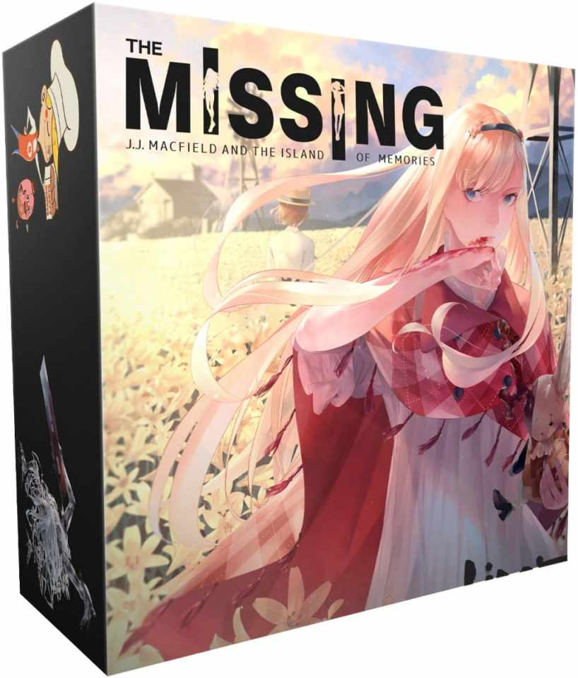 the missing j j macfield and the island of memories collectors edition physical release limited run games ps4 nintendo switch cover limitedgamenews.com