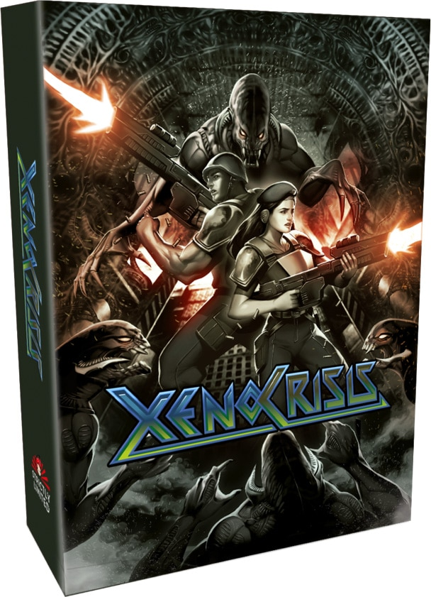 xeno crisis physical release collectors edition strictly limited games ps4 nintendo switch cover limitedgamenews.com