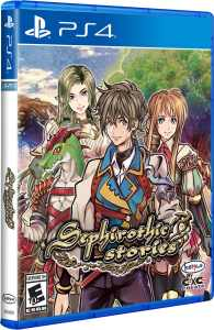 sephirothic stories physical release limited run games ps4 cover limitedgamenews.com