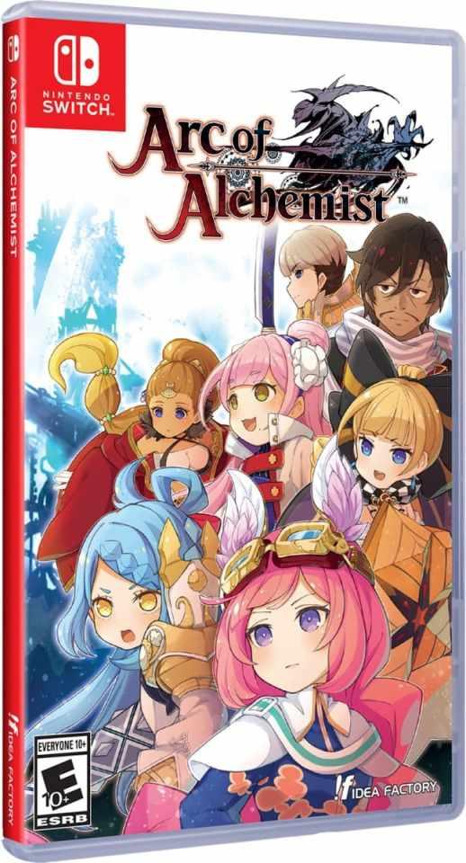 arc of alchemist physical release idea factory limited run games nintendo switch cover limitedgamenews.com