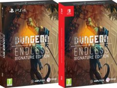 dungeon of the endless signature edition physical release ps4 nintendo switch cover limitedgamenews.com