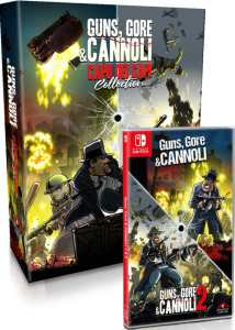guns gore and cannoli 2 and 1 capo dei capi collection edition physical release strictly limited games nintendo switch cover limitedgamenews.com