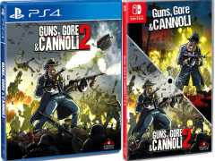 guns gore and cannoli 2 standard edition physical release strictly limited games ps4 nintendo switch cover limitedgamenews.com