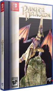 panzer dragoon classic edition physical release limited run games nintendo switch cover limitedgamenews.com