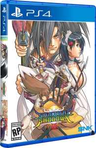 samurai shodown vi physical release limited run games ps4 cover limitedgamenews.com