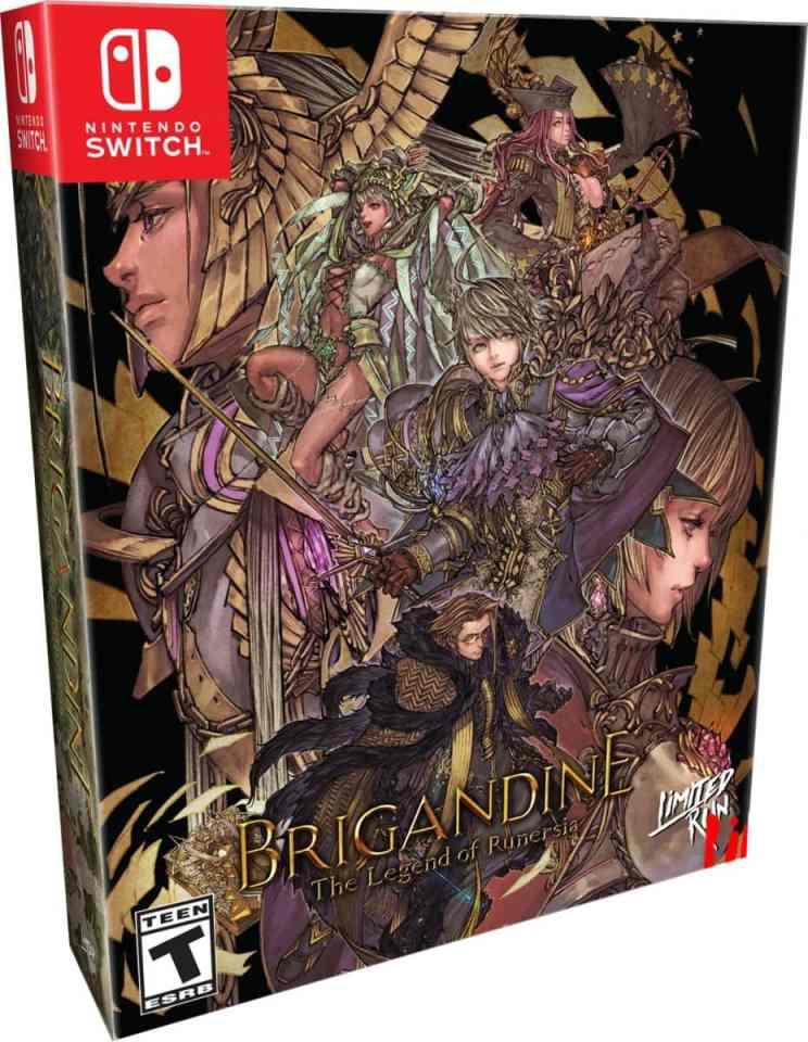 brigandine physical release limited run games collectors edition nintendo switch cover limitedgamenews.com