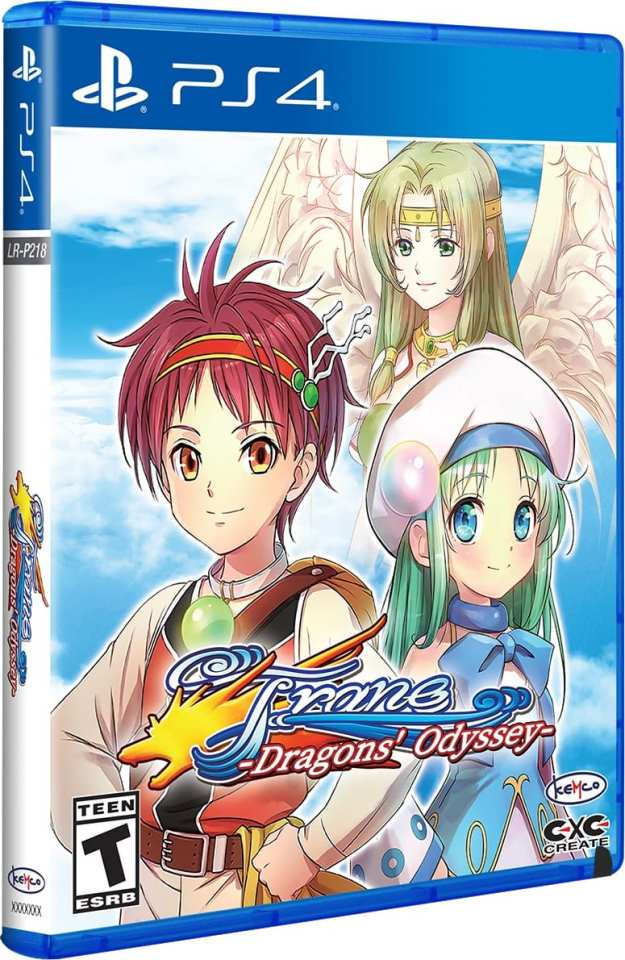 frane dragons odyssey physical release limited run games ps4 cover limitedgamenews.com
