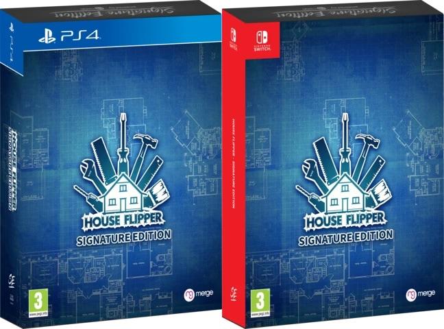 house flipper signature edition games ps4 nintendo switch cover limitedgamenews.com