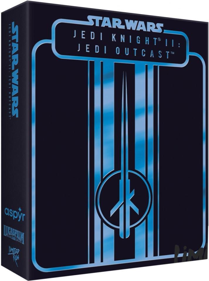 star wars jedi knight ii jedi outcast physical release premium edition limited run games ps4 nintendo switch cover limitedgamenews.com