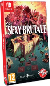 the sexy brutale standard edition physical release super rare games nintendo switch cover limitedgamenews.com