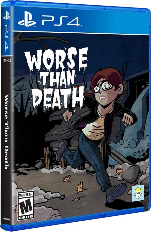 worse than death physical release limited run games ps4 cover limitedgamenews.com