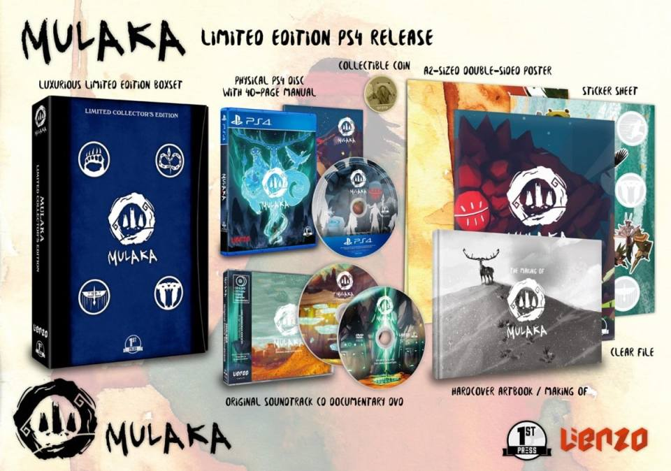 mulaka physical release first press games collectors edition ps4 nintendo switch cover limitedgamenews.com