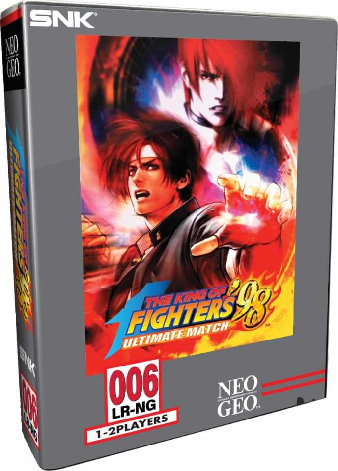 the king of fighters 98 ultimate match physical collectors edition release limited run games ps4 cover limitedgamenews.com