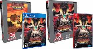 samurai shodown neogeo collection classic edition physical release limited run games ps4 nintendo switch cover limitedgamenews.com