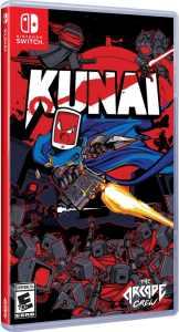 kunai physical release dotemu limited run games nintendo switch cover limitedgamenews.com