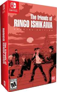 the friends of ringo ishikawa special edition physical release pm studios limited run games nintendo switch cover limitedgamenews.com