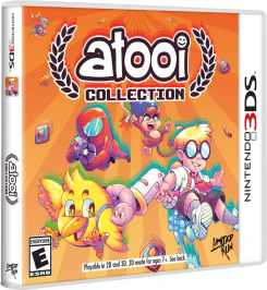 atooi collection physical release standard edition limited run games nintendo 3ds cover www.limitedgamenews.com