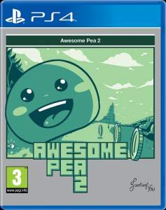awesome pea 2 retail red art games ps4 cover www.limitedgamenews.com